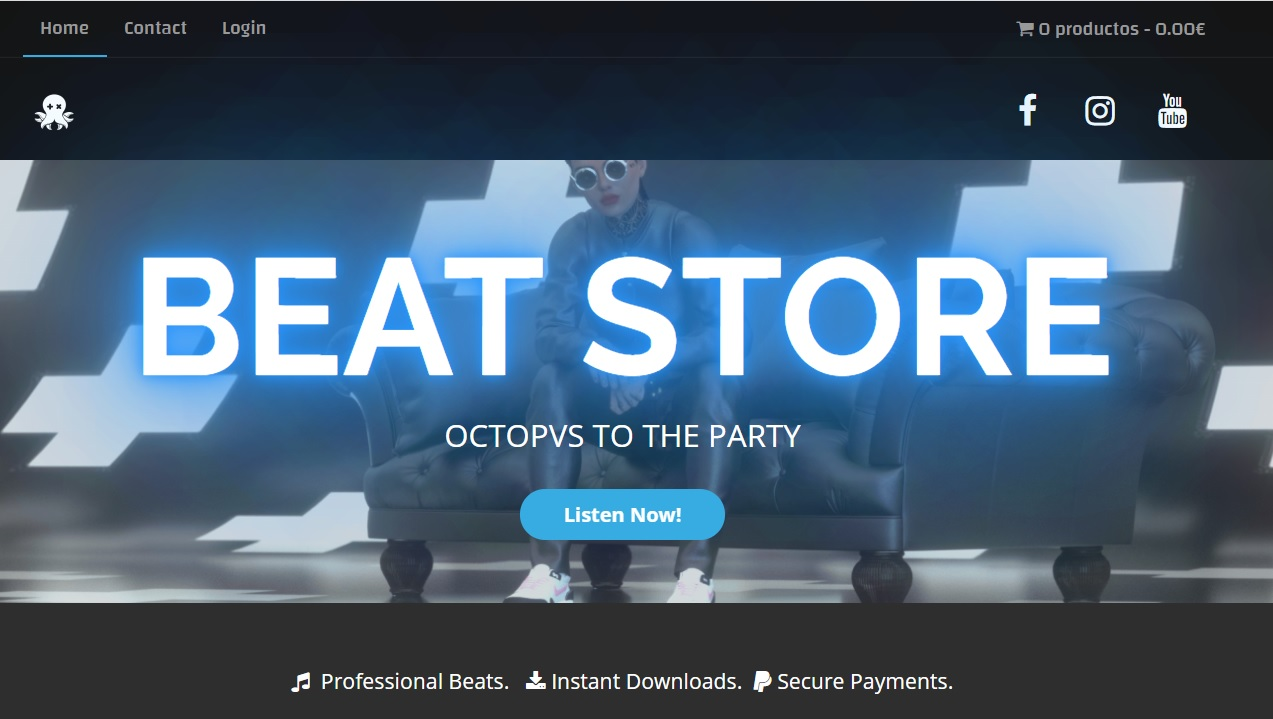 Octopvs to the party beats store